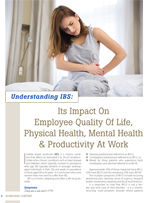 Understand IBS:  Its Impact On Employee Quality Of Life, Physical Health, Mental Health & Productivity At Work