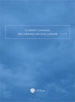 CLIMATE CHANGE: DELIVERING ON DISCLOSURE