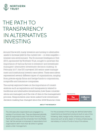 Alternative Assets: The Path to Transparency
