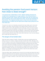 Avoiding the pension fund event horizon: how close is close enough?