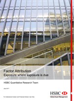 Factor Attribution: Exposure where exposure is due